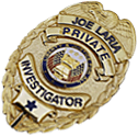 salem-oregon-private-investigator-Joe-Laria-badge
